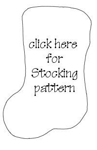 Christmas Stocking Pattern Thumbnail