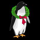 Little Christmas Gift Shop Penguin graphic left