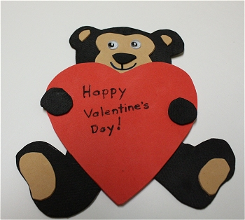 Valentine S Day Teddy Bear Pin Or Magnet Craft